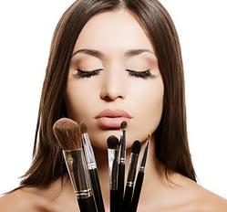 Schminkutensilien für Make-up