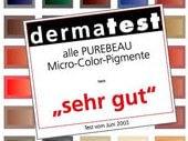Farben permanent Make-up im Kosmetikzentrum in Paderborn dermatologisch getestet